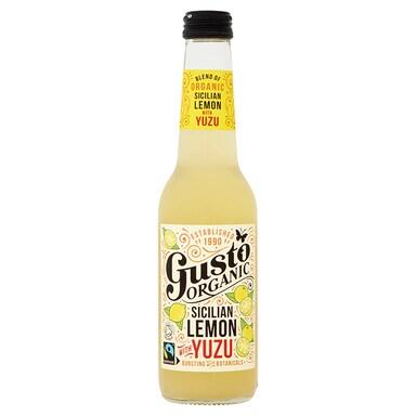 Gusto Organic Sicilian Lemon with Yuzu 275ml