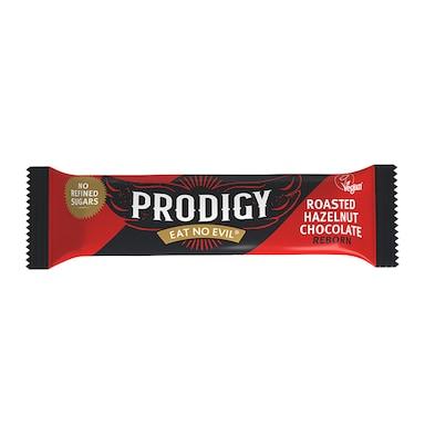 Prodigy Roasted Hazelnut Chocolate Bar 35g