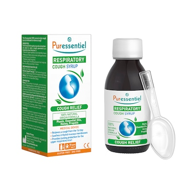 Puressentiel Respiratory Cough Syrup 125 ml