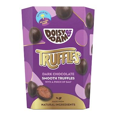 Doisy & Dam Vegan Dark Chocolate Smooth Truffles 144g