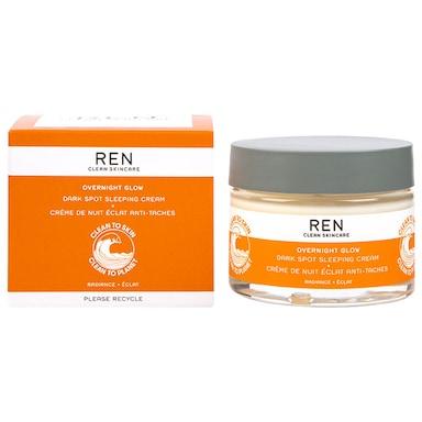 REN Overnight Glow Dark Spot Sleeping Cream