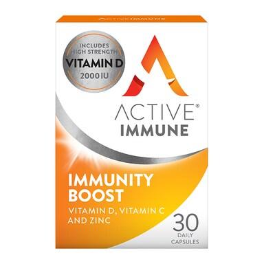 Active Immune immunity Boost Daily 30 Capsules