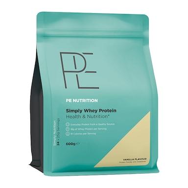 PE Nutrition Simply Whey Vanilla 600g