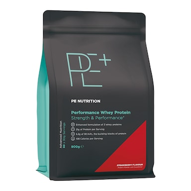 PE Nutrition Performance Whey Strawberry 900g