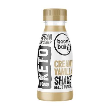 Boostball Keto Creamy Vanilla Shake 330ml