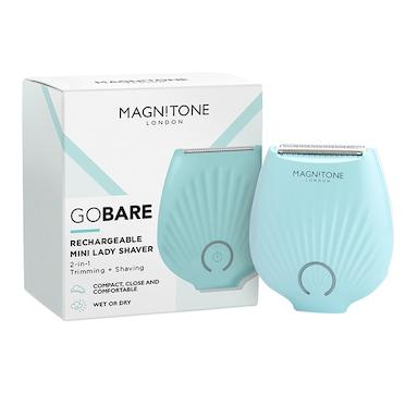 Magnitone GoBare Mini Rechargeable Lady Shaver - Aqua
