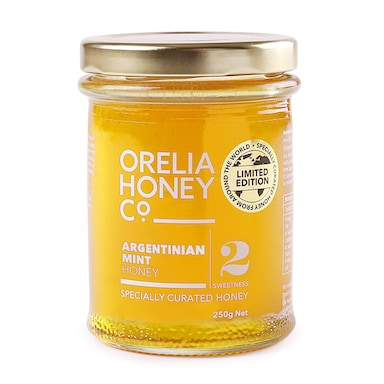 Orelia Argentinian Mint Honey 250g