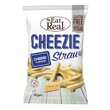 Eat Real Cheezie Straws 45g
