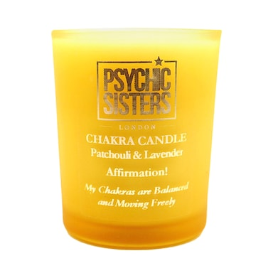 Psychic Sisters Chakra Mini Candle