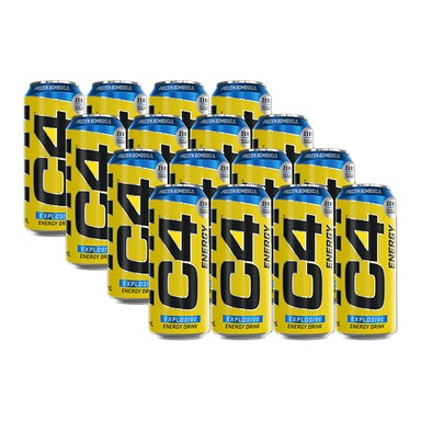 Cellucor C4 Energy Carbonated Frozen Bombsicle 12 x 500ml