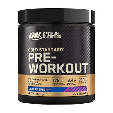 Optimum Nutrition Gold Standard Pre Workout Blue Raspberry 330g