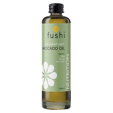 Fushi Fresh-Pressed Organic Avocado Oil 100ml
