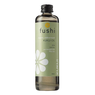 Fushi Fresh-Pressed Organic Kukui Oil 100ml
