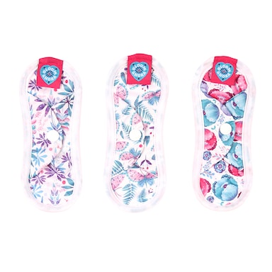 Bloom and Nora Reusable Liner Pad Triple Pack