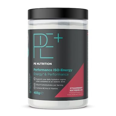 PE Nutrition Performance ISO Energy Strawberry & Watermelon 455g