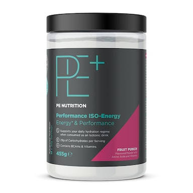 PE Nutrition Performance ISO Energy Fruit Punch 455g