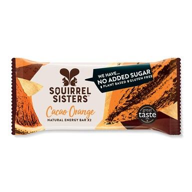 Squirrel Sisters Cacao Orange Brownie Bar 40g