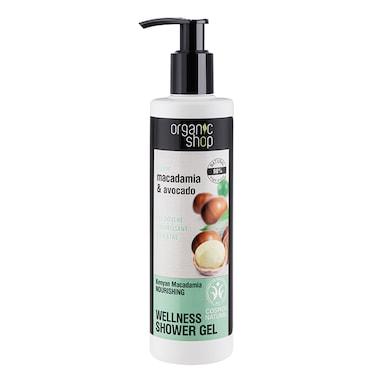 Organic Shop Nourishing Kenyan Macadamia Shower Gel 280ml