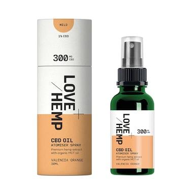 Love Hemp 300mg CBD Spray Valencia Orange 30ml