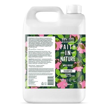 Faith in Nature Wild Rose Shampoo 5L