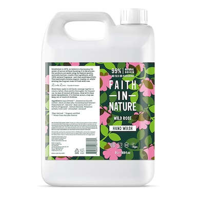 Faith in Nature Wild Rose Hand Wash 5 Litre
