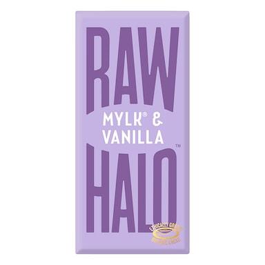 Raw Halo Vegan Mylk & Vanilla Raw Chocolate 70g