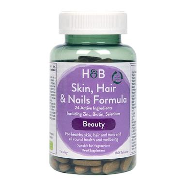 Holland & Barrett Skin, Hair & Nails Formula 180 Tablets