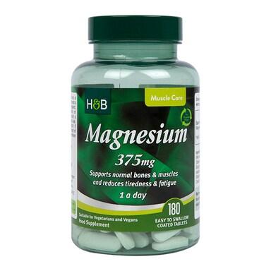 Holland & Barrett Magnesium 375mg 180 Tablets