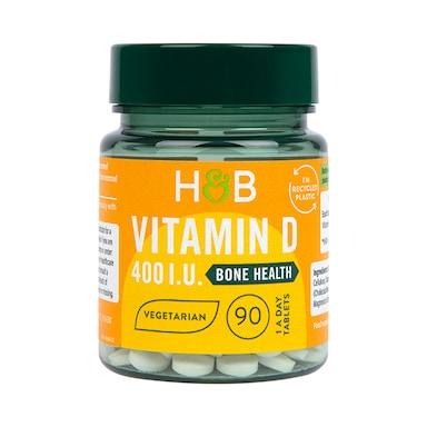 Holland & Barrett Vitamin D3 400 I.U. 90 Tablets