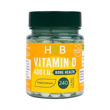 Holland & Barrett Vitamin D3 400 I.U. 240 Tablets
