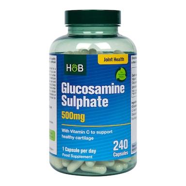 Holland & Barrett Glucosamine Sulphate 500mg 240 Capsules