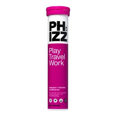 Phizz Apple & Blackcurrant Multivitamin & Hydration Effervescent 20 Tablets