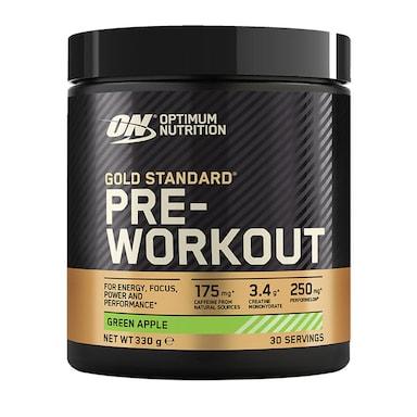 Optimum Nutrition Gold Standard Pre Workout Green Apple 330g