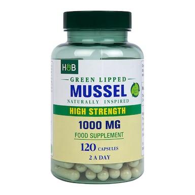 Holland & Barrett Green Lipped Mussel 1000mg 120 capsules