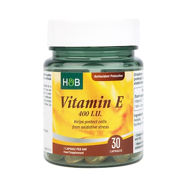 Holland & Barrett Vitamin E 400iu 30 Capsules
