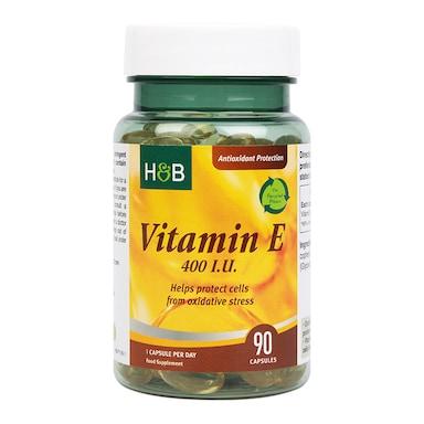 Holland & Barrett Vitamin E 400iu  90 Capsules