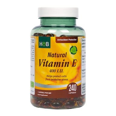 Holland & Barrett Vitamin E 400iu 240 Capsules