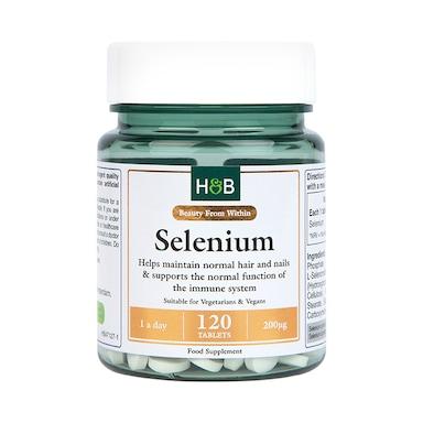 Holland & Barrett Selenium 200ug 120 Tablets