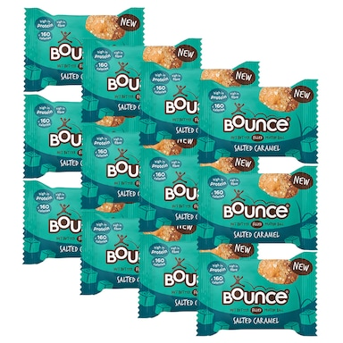 Bounce Salted Caramel Filled Protein Ball 12 x 35g