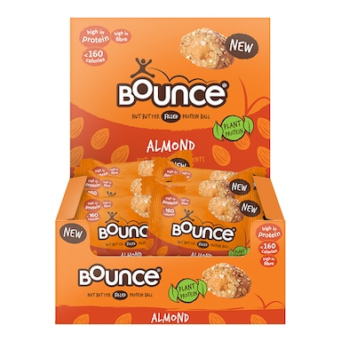 Bounce Almond Butter Filled Plant Protein Ball 12 x 35g