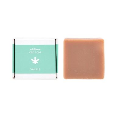 Wildflower Vanilla CBD Soap 97g