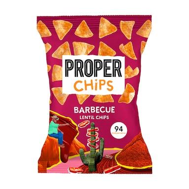 Properchips Barbecue Lentil Chips Sharing Bag 85g