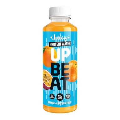 Upbeat Juicy Protein Water Daily Boost Orange & Passionfruit 500ml