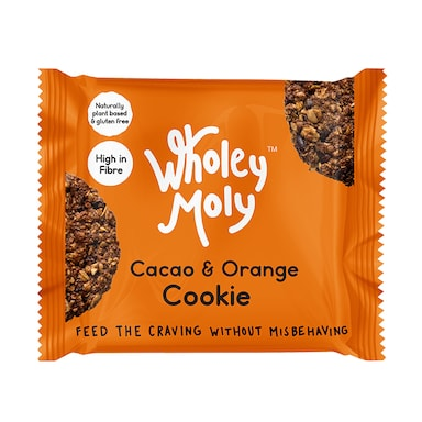 Wholey Moly Cookies Cacao & Orange 38g