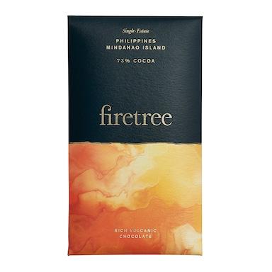 Firetree Philippines, Mindanao Island 73% Cocoa Bar 65g