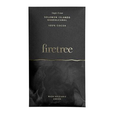 Firetree Solomon Islands, Guadalcanal 100% Cocoa Bar 65g