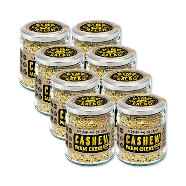 Pimpmysalad Cashew Parm Cheez Jar 8 x 120g