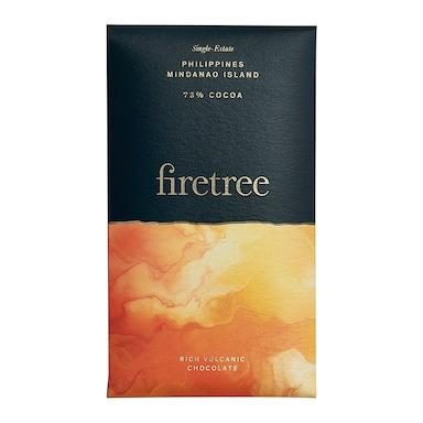 Firetree Philippines, Mindanao Island 73% Cocoa Bar 25g