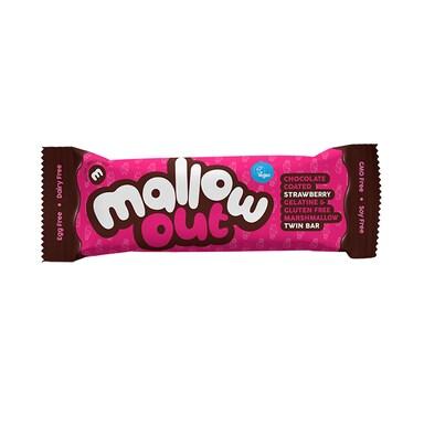 Freedom Mallows Vegan Strawberry MallowOut Twin Bar 35g