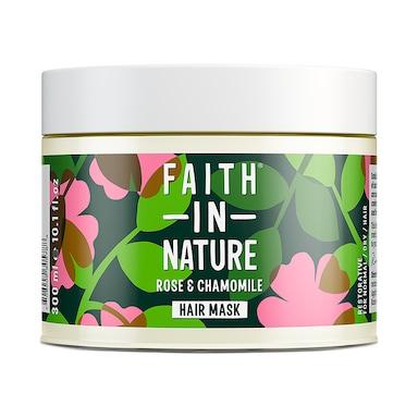 Faith in Nature Rose & Chamomile Hair Mask 300ml